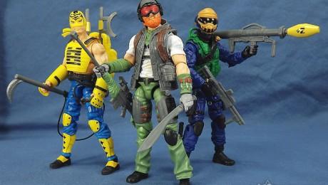 G.I. Joe Zombie Initiative Zombie Hunters