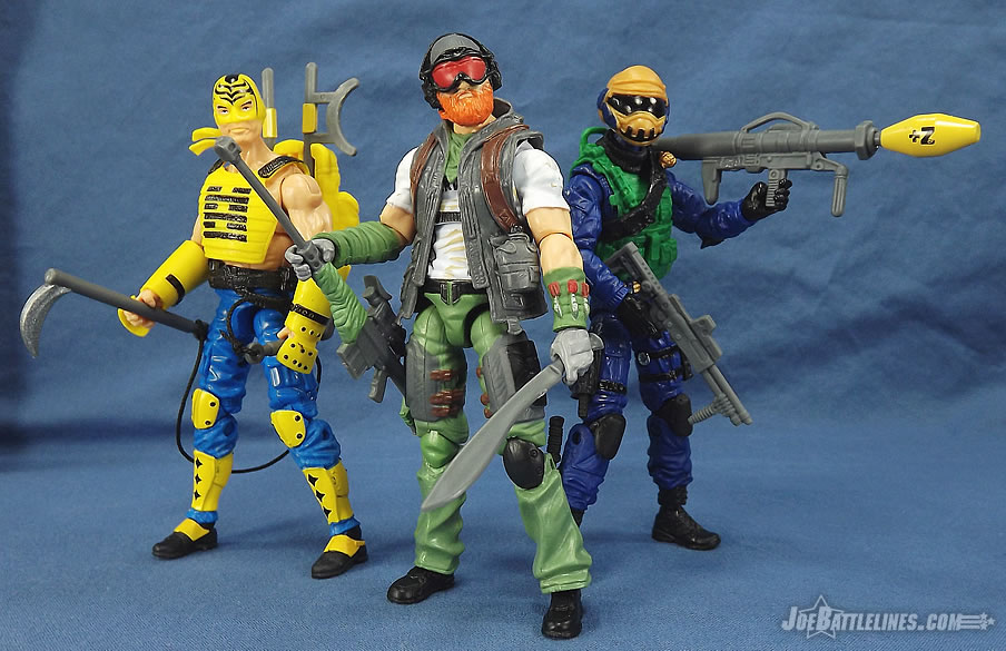 G.I. Joe Zombie Initiative Zombie Hunters