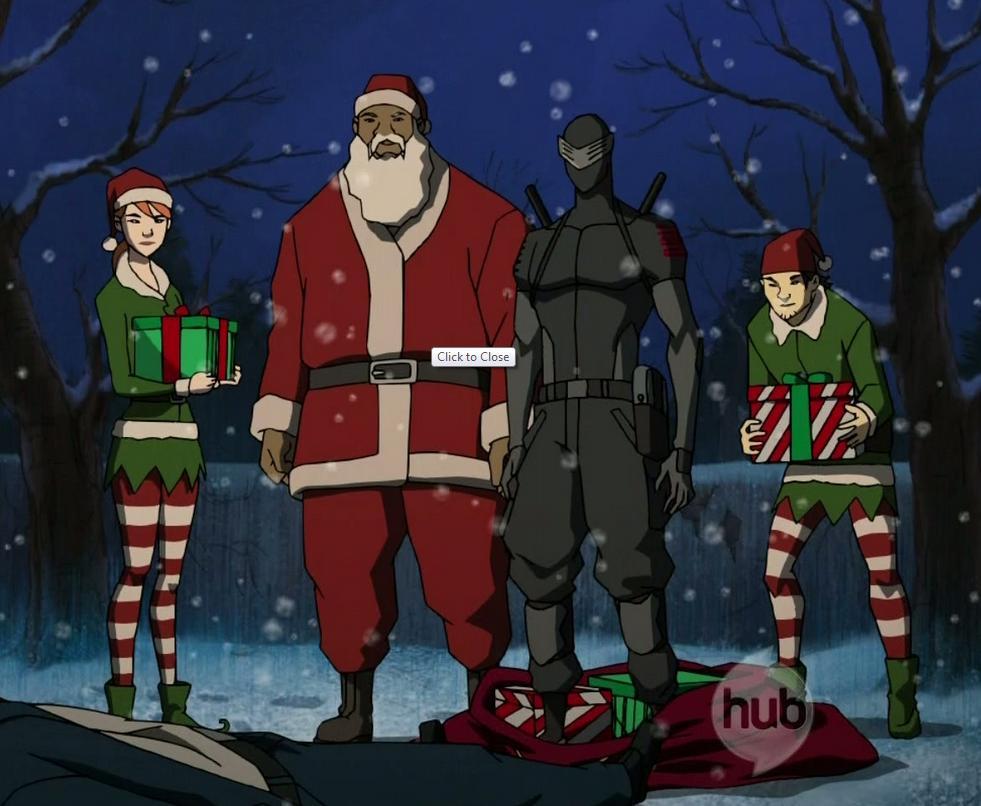 Christmas holiday g.i. joe Renegades