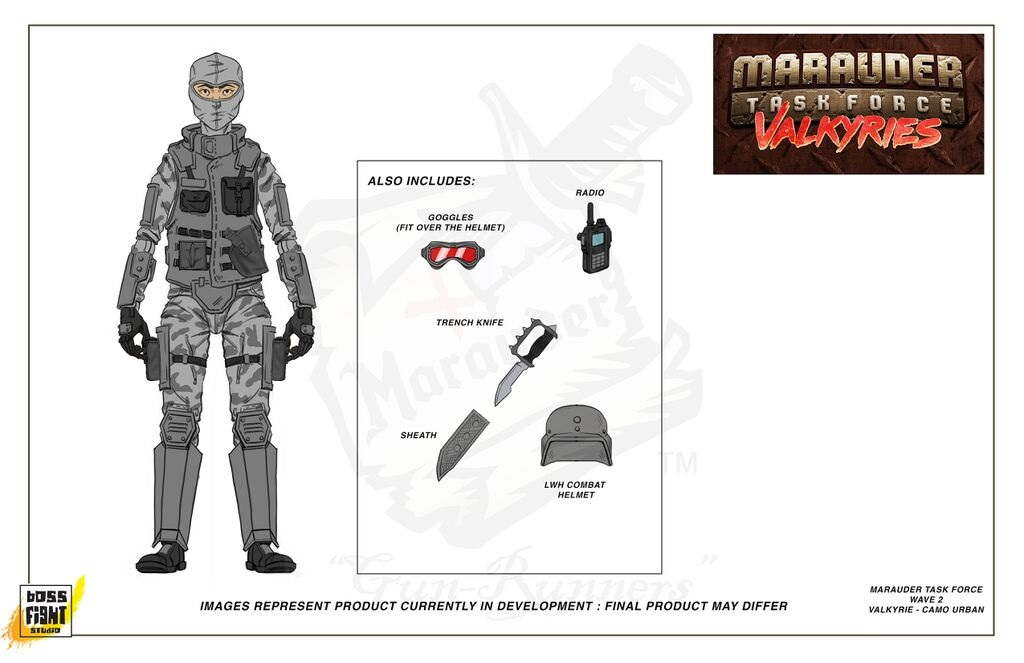 Marauder Task Force Valkyries Urban
