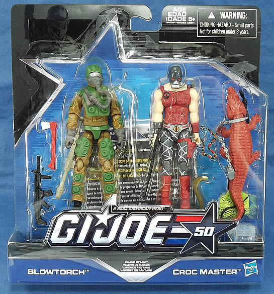 G.I. Joe 50th Swamp Steam two-pack