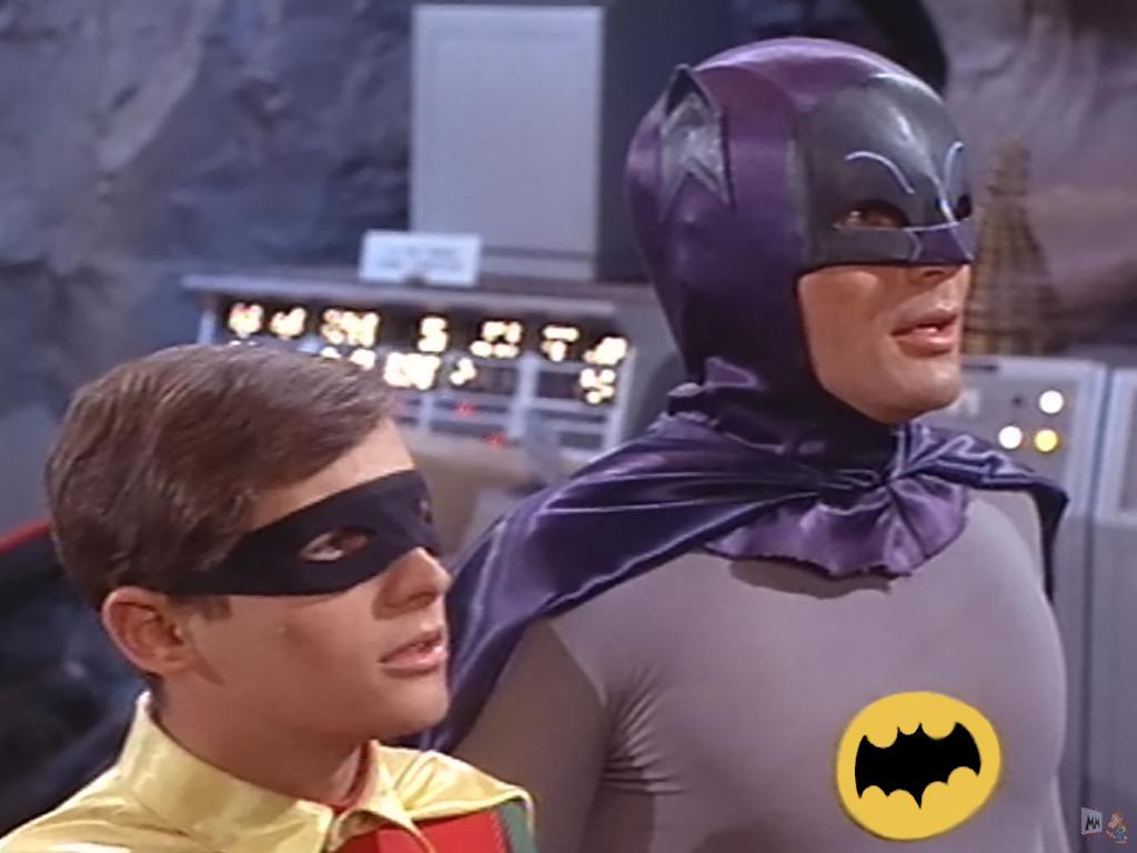 Batman 1966 Adam West Burt Ward